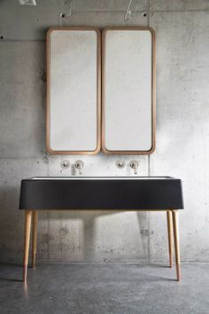 son moda banyo dolaplari mobilya ve lavabo dolabi boy dolabi aynalar ahsap siyah modern