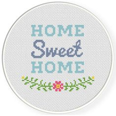 Charts Club Members Only: Sweet Home Cross Stitch Pattern