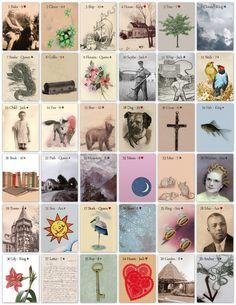 Postmark Lenormand Beautiful