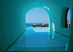 El #hotel de mis sueños está en Santorini