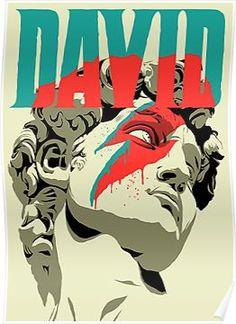 'david bowie' Poster by David Bowie Poster, David Bowie Art, David Bowie Starman Lyrics, Art Actuel, Poster Print, Gig Poster, Art Print, Kunst Poster, Jean Michel Basquiat