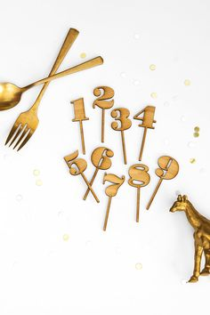 Amber Bamboo Birthday Number Cupcake Toppers for your party 30 Cake Topper, Cupcake Toppers, Party Finger Foods, Cupcakes, Birthday Numbers, Party Entertainment, Animal Party, New Age, Holiday Parties