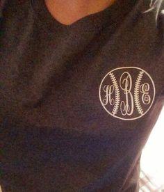 Baseball Monogram Iron On, Baseball Iron On Decal. Baseball Shirt,  Baseball Mom, Tee Ball Shirt on Etsy, $10.00