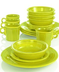 Fiesta 16-Piece Set Service for 4  sc 1 st  Pinterest & image of Fiesta® 16-Piece Dinnerware Set in Scarlet | Kitchen ...
