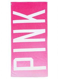 Beach Towel - PINK - Victorias Secret