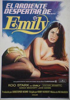 cartel original maqueta de la película El Ardiente despertar de Emily de Mac - Foto 1