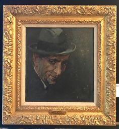 Norman Rockwell (1894-1978) Portrait of Louis Lamone, Oil on Board.
