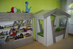 Kinderzimmer zum Toben - Viel Stauraum und gemütliches Schlafen