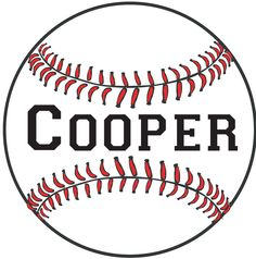 28.5 Personalized Baseball Name Wall Decal Removable by MeYDecals, $35.00