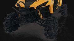 Can-Am Maverick Turbo gear lift Portal Lift from Rockcrusher Portal Lift on Mudgur.com