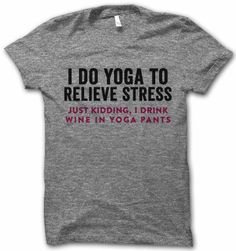 For Norma,` even though she really does YOGA