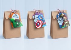 justice league loot bags - Google Search