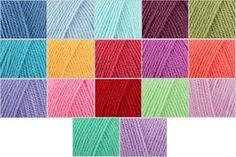 Stylecraft Special DK Attic24 Colour Pack - Wool Warehouse - Buy Yarn, Wool, Needles & Other Knitting Supplies Online!