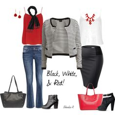 """One jacket-2 styles  """"Over 40 Fashion Casual Outfits for Fall"""" by sheila-r on Polyvore"""