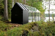 Combining a garden shed and a greenhouse, the Kekkila Garden Shed offers a visually pleasing workspace for the at-home gardner. The prefabricated design is made from Finnish pine and safety glass for a sturdy structure that can be assembled with...