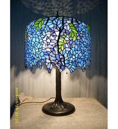 Tiffany Wisteria Table Lamp | Unique Lamps
