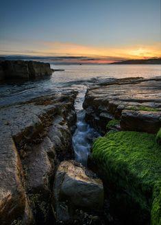 Flatrock ~ Newfoundland, Canada (photo by Sheldon Spurrell, Michigan). Newfoundland Canada, Newfoundland And Labrador, Landscape Photos, Landscape Photography, Nature Photography, O Canada, Canada Travel, Sky Sunset, Future Photos
