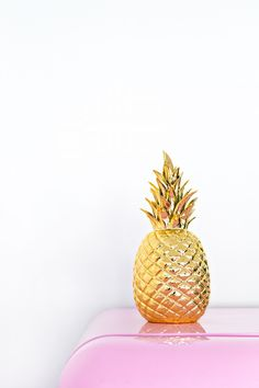 Gold Pineapple > http://www.wayfair.com/DK-Living-Porcelain-Pineapple-Figurine-173081-173082-DKLV1356.html