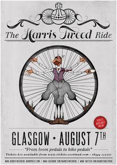 the harris tweed ride.