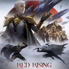 Recently I was given an incredible opportunity to work on a board game pitch for involving my favorite book series… Character Art, Character Design, Red Rising, Fantasy Books To Read, Red Queen, Fantasy Warrior, Dark Ages, Book Characters, Book Series