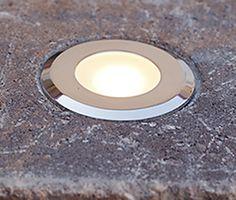 Circle Cored LED Paver Light & 6x9