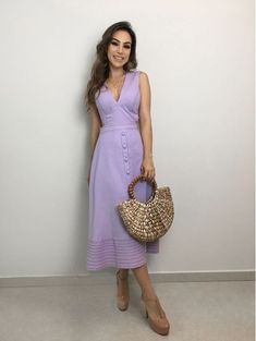 Work Clothes Convey Professionalism and Offer Durability Cute Dresses, Casual Dresses, Casual Outfits, Dresses For Work, Summer Dresses, Summer Outfits, I Love Fashion, Womens Fashion, Indian Look