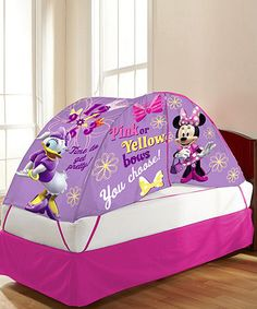 Look what I found on #zulily! Minnie Mouse Bed Tent by Minnie Mouse #zulilyfinds