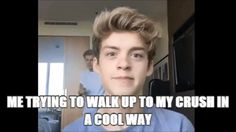 George is me and Reece is so adorable in this Gif!!