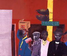 Africa | sam nhlengethwa Misty Copeland, Age Of Aquarius, South African Artists, So Creative, Outsider Art, Mixed Media Collage, Art Education, Contemporary Artists, Folk Art