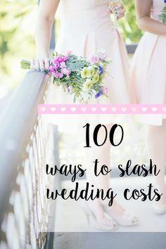 Looking to reduce wedding costs? Look no further! #weddingtips #weddingonabudget