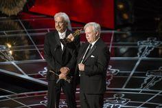 "Alan Robert Murray and Bub Asman won the Sound Editing Award for ""American Sniper"""