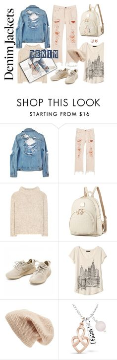 """""""Jean Jacket"""" by ragnh-mjos ❤ liked on Polyvore featuring High Heels Suicide, Alexander Wang, Tom Ford, Banana Republic, Sole Society and GUESS"""