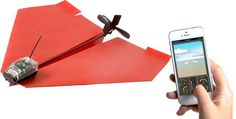 PowerUp turns your self-made paper airplane into a smartphone-controlled flying machine! The process is very simple, create your paper airplane, attach the PowerUp smart module, and connect it via Bluetooth to the app on your smartphone (Andr App Control, Radio Control, Smartphone, Iphone App, Tech Gadgets, Cool Gadgets, Iphone Gadgets, Usb, Modele Impression 3d