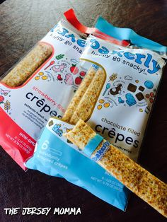 Crepes on the go! French inspired lunchbox treats from Bakerly!