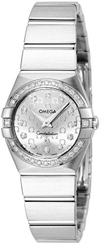#diamondwatchesforwomen Omega Women's 123.15.24.60.52.001 Constellation Stainless Steel Watch with Diamonds Check https://www.carrywatches.com