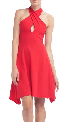 by American Apparel  Cotton Spandex Jersey Bandeau Dress