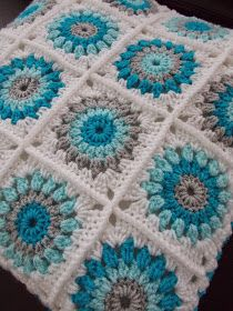 Trendy Ideas For Crochet Baby Blanket Free Pattern Granny Square Color Combo. Trendy Ideas For Crochet Baby Blanket Free Pattern Granny Square Color Combos patterns blanket color combos Crochet Baby Blanket Free Pattern, Granny Square Crochet Pattern, Afghan Crochet Patterns, Crochet Squares, Crochet Motif, Crochet Granny, Granny Squares, Knitting Patterns, Baby Granny Square Blanket