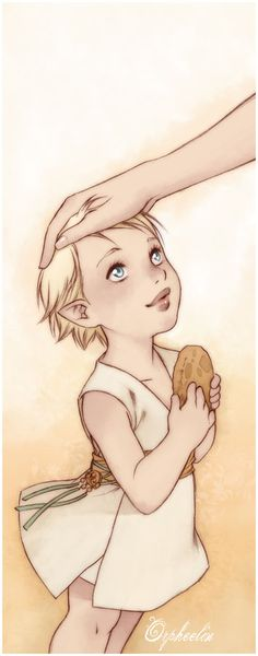 """((elf and mom be the elf)) """"I found a cookie!"""" the young elf told me. I smiled and patted her head. She was a good girl but didn't listen to the rules. She was always sneaking out."""
