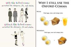 True! If you don't have the oxford comma, then it's wrong!