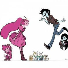 princess bubblegum and prince gumball | Tumblr Marshal lee Adventure time