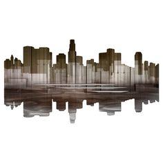 L.A. Reflection Wall Sculpture