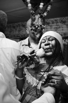 CEREMONY II : SHANNON TAGGART. Photo collection of Vodou Ceremonies in Mambo Rose Marie Pierre's Basement Temple.