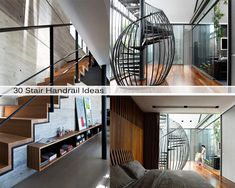To get your creative juices flowing, we want to show you 30 Stair Handrail Ideas For Interiors Stairs– build something similar in your home and navigate from one floor to another with style! Now scroll down the list and tell us which one you would like to have in your house?
