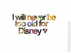 There is no good substitute for Disney...so magical and memorable.