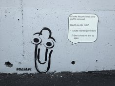 Clippy by Scampi.  Wellington (New Zealand).