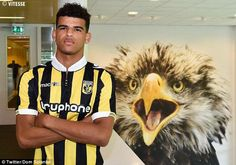 Striker Dominic Solanke has joined Vitesse Arnhem on a season-long loan from Chelsea, the Premier League champions have announced. Premier League Champions, Chelsea, Football, Seasons, Twitter, Soccer, Seasons Of The Year, Chelsea F.c., American Football