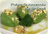 Falso guacamole con brócoli