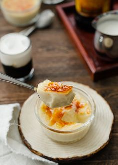 A recipe for White Russian Creme Brûlée: Two timeless classics come together, elevating a classic custard with notes of Kahlúa..
