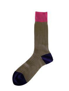 Hh - Mens Socks - Colour Secret *Grayish Beige*