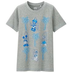 66550c79f UNIQLO DISNEY PROJECT Short Sleeve Graphic T-Shirt (£4.90) ❤ liked on
